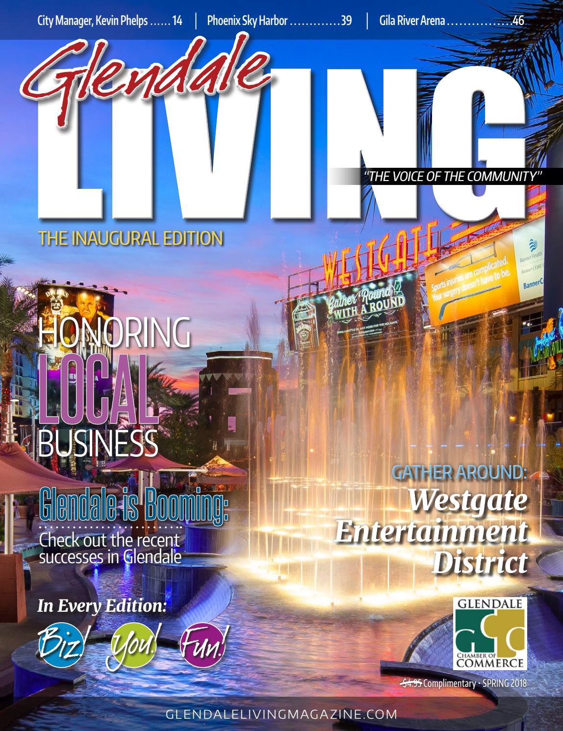 1917f8073a4 Glendale LIVING Magazine by ROX Media Group - issuu