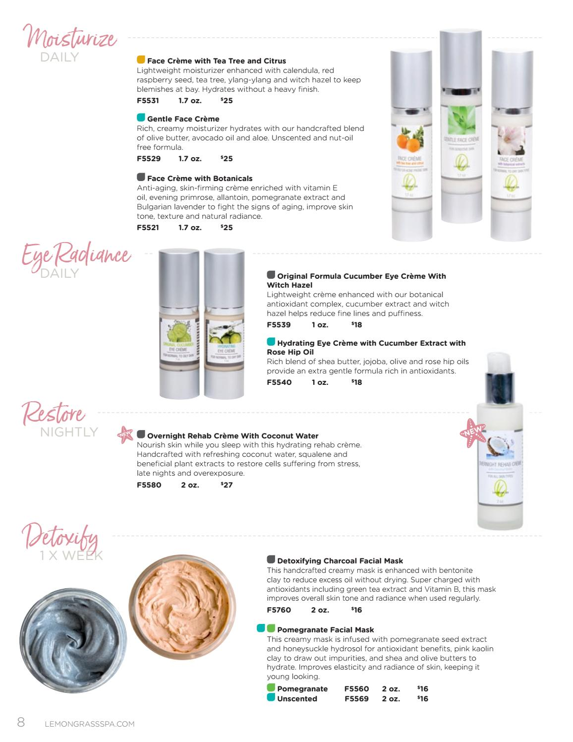 Spring/Summer Catalog 2018 by Lemongrass Spa Products - issuu