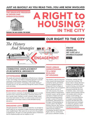 Towards a Right to Housing in Bushwick by The New School - issuu