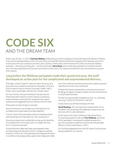 Page 11 of Code Six