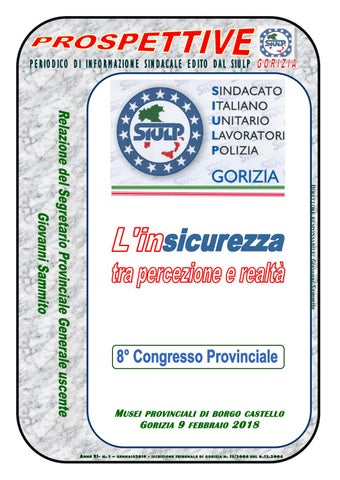Prospettive siulp Gorizia gennaio 2018 by xdoma2015 - issuu