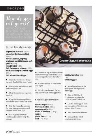 Page 28 of Creme Egg Brownies