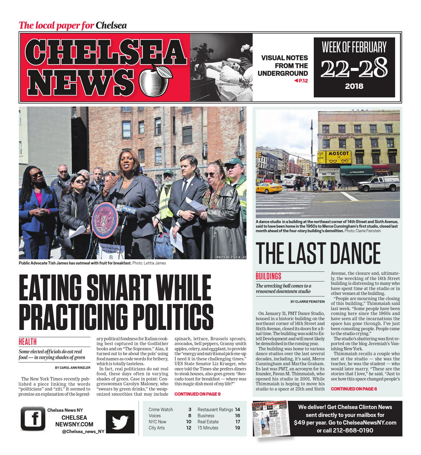9a8601ded49d Chelsea News - February 22, 2018 by Chelsea News NY - issuu