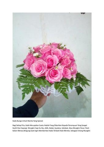 Hub Wa 62 896 7843 1285 Buket Bunga Mawar Merah By Jual Bunga Bucket Sidoarjo Issuu