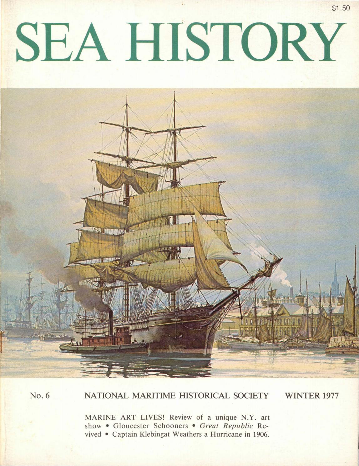 Sea History 006 Winter 1976 1977 By National Maritime Historical Defective Circuit Breakers From The Mid1950s To Early 1980s Are Society Magazine Issuu
