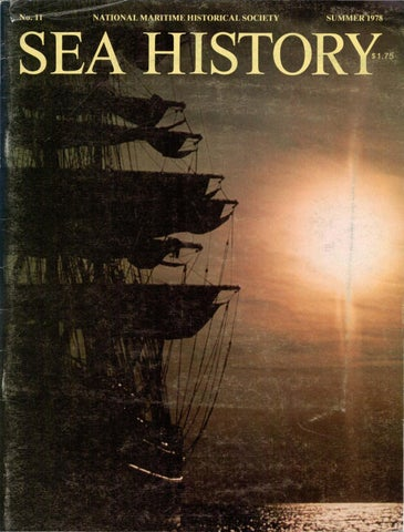 Sea History 011 Summer 1978 By National Maritime Historical