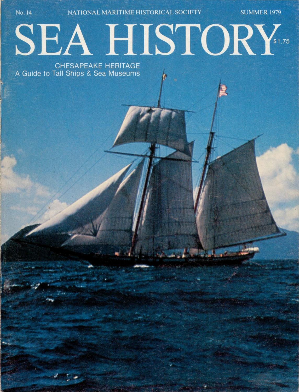 7742b0ffac Sea History 014 - Summer 1979 by National Maritime Historical ...
