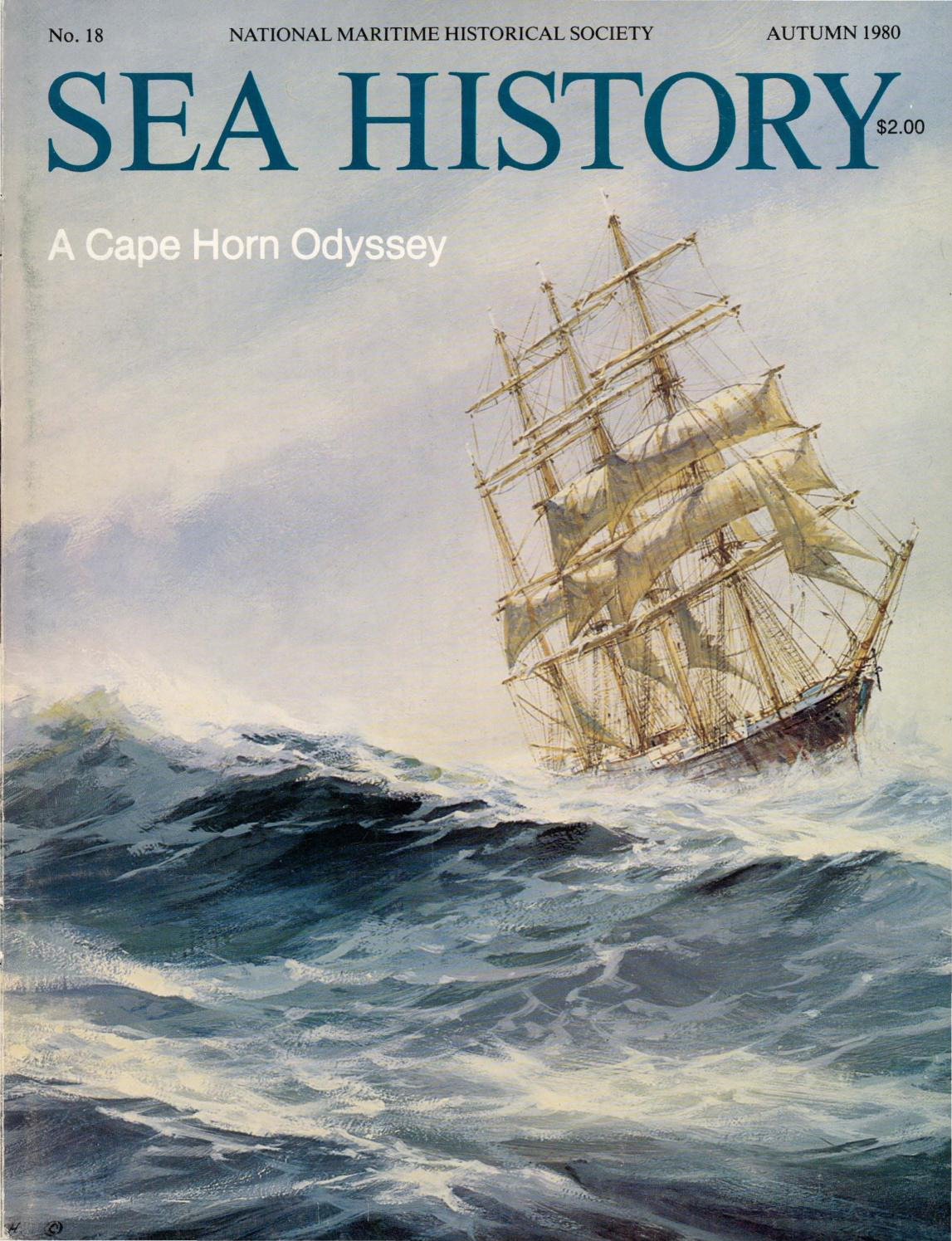 Sea History 018 Autumn 1980 By National Maritime Historical Tall Ship Rig Types Plate 4 Society Magazine Issuu
