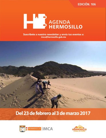 "Cover of ""Agenda Hermosillo 23 feb 2018"""