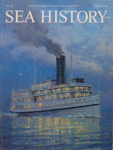 1e5f1276658 Sea History 020 - Spring 1981 by National Maritime Historical ...