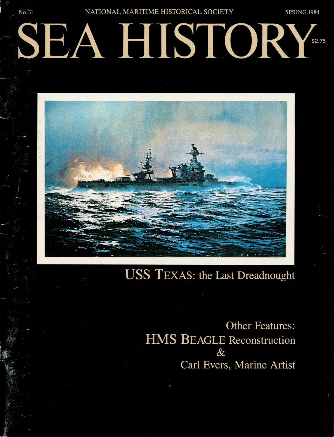 Sea History 031 - Spring 1984 by National Maritime Historical Society & Sea  History Magazine - issuu