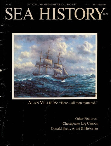 Sea History 032 - Summer 1984 by National Maritime Historical