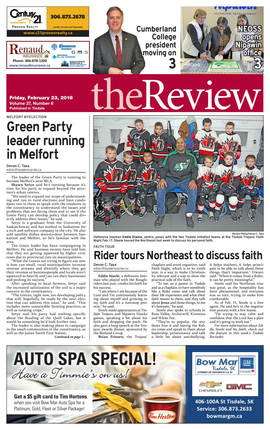 The Review 2018 02 23 by Parkland Review - issuu
