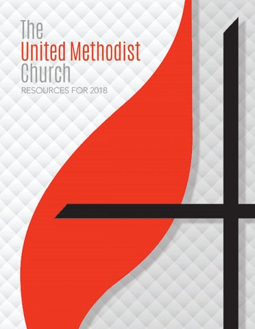 The United Methodist Church Resources For 2018 By United Methodist