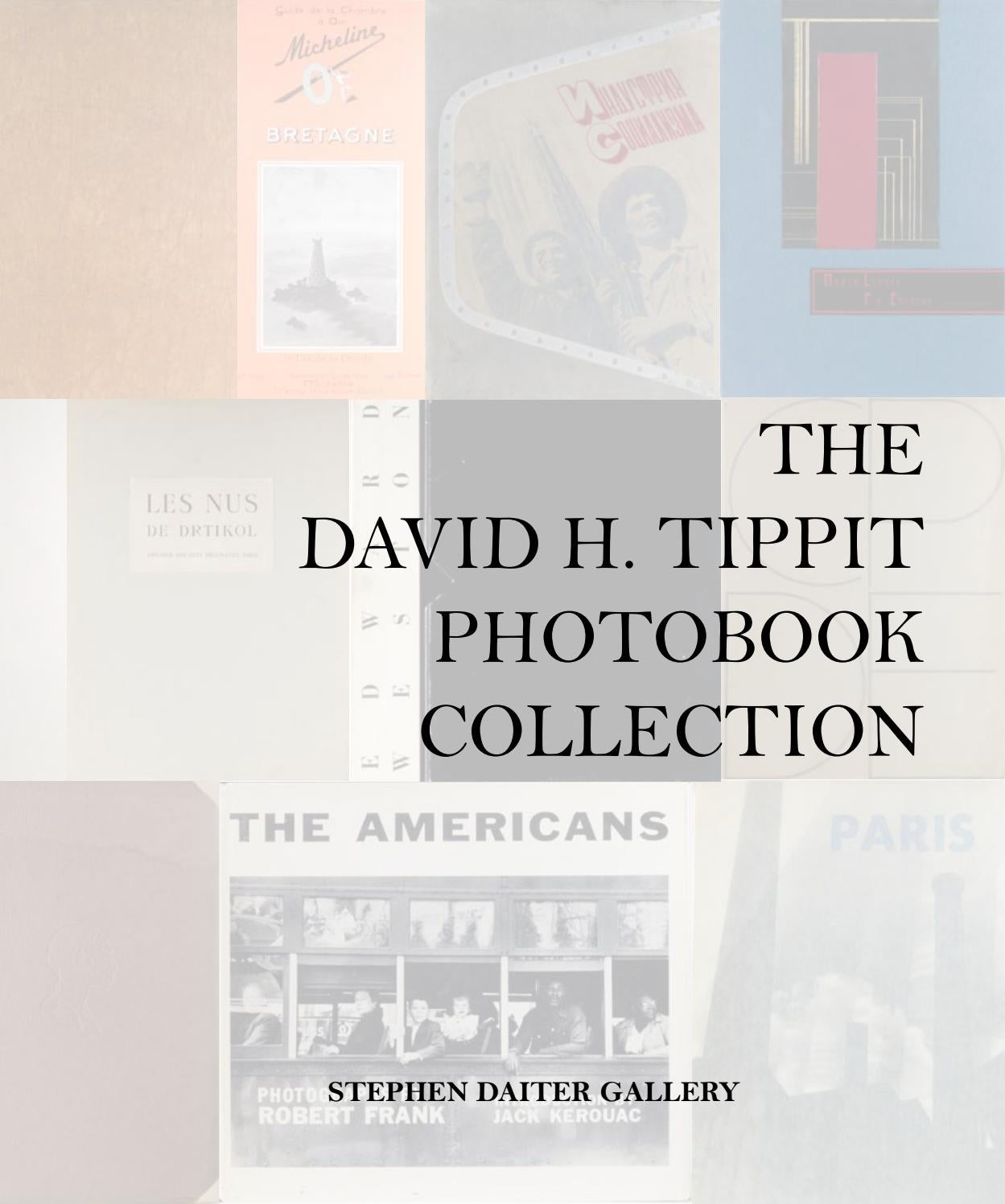 The David H  Tippit Photobook Collection by Stephen Daiter