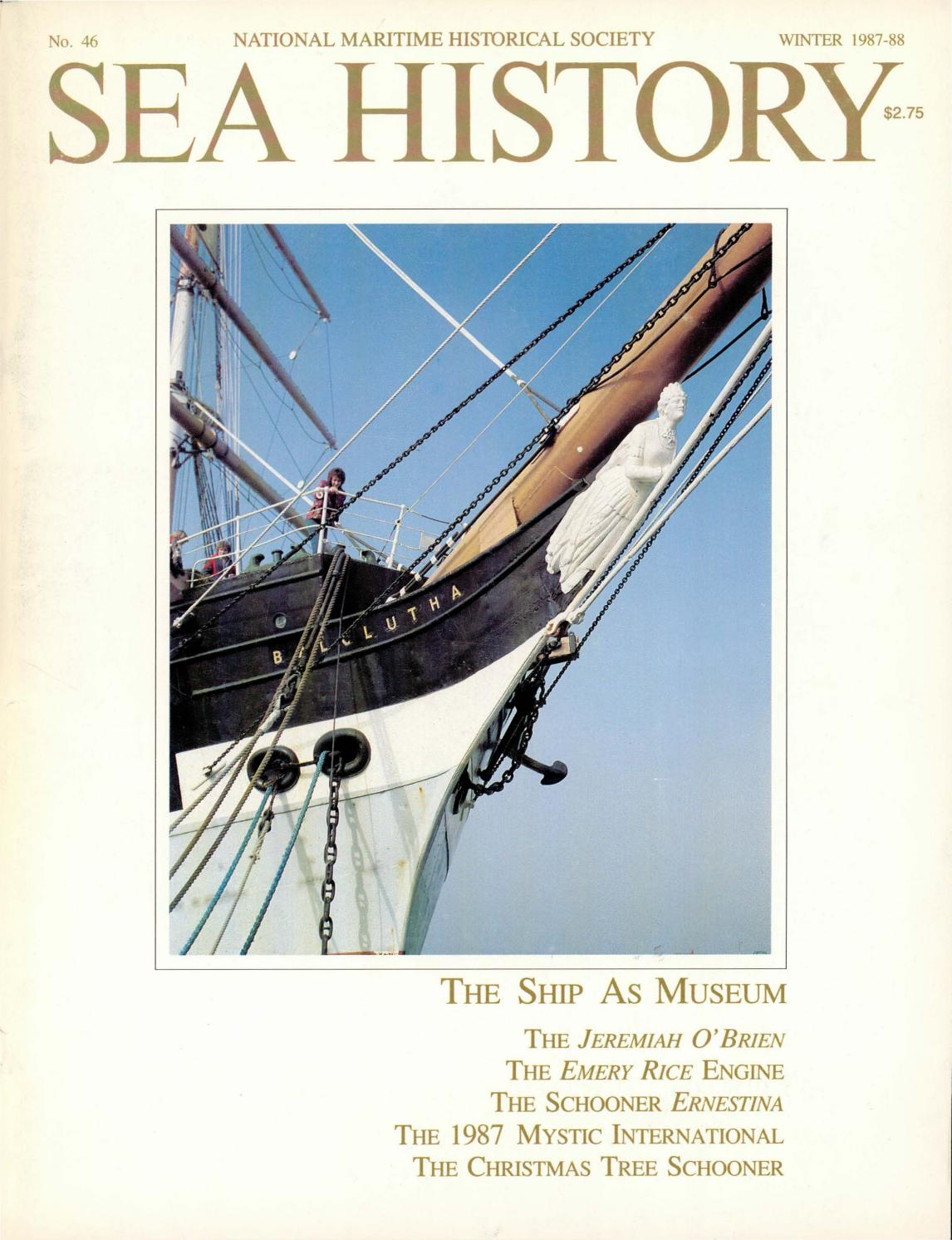 Sea History 046 - Winter 1987-1988 by National Maritime Historical Society  & Sea History Magazine - issuu