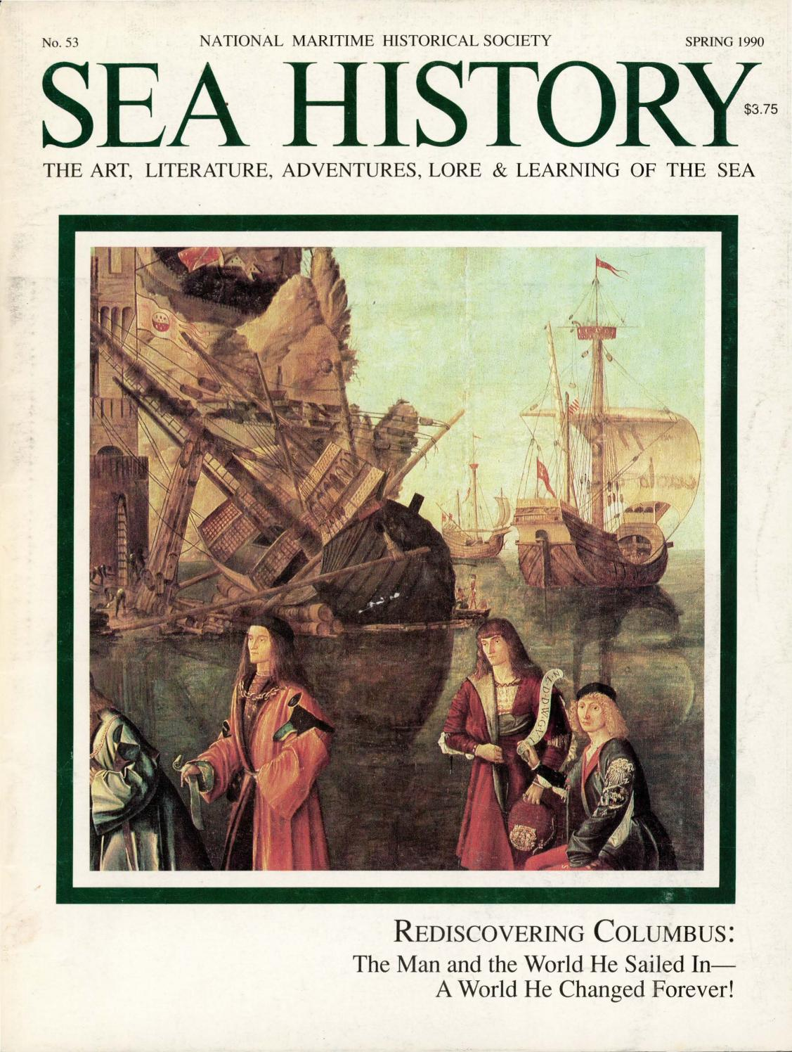 0c293d51 Sea History 053 - Spring 1990 by National Maritime Historical ...