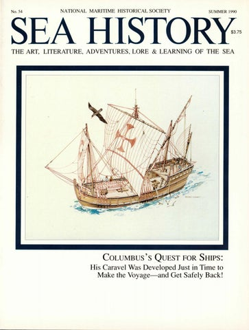 Sea History 054 Summer 1990 By National Maritime Historical