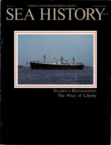 Sea History 041 - Autumn 1986 by National Maritime