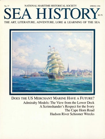 757e85c095 Sea History 070 - Summer 1994 by National Maritime Historical ...