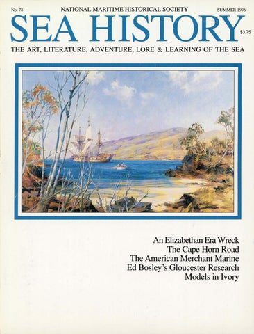 18a3d1b2563 Sea History 022 - Autumn 1981 by National Maritime Historical ...
