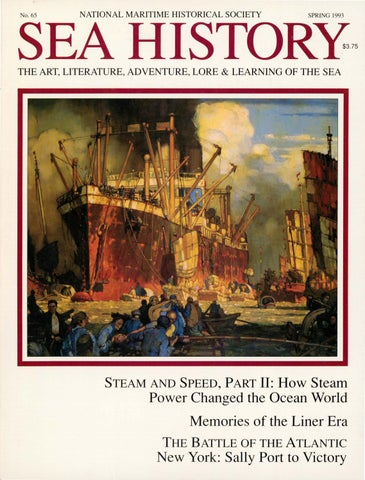 Sea History 065 Spring 1993 By National Maritime Historical