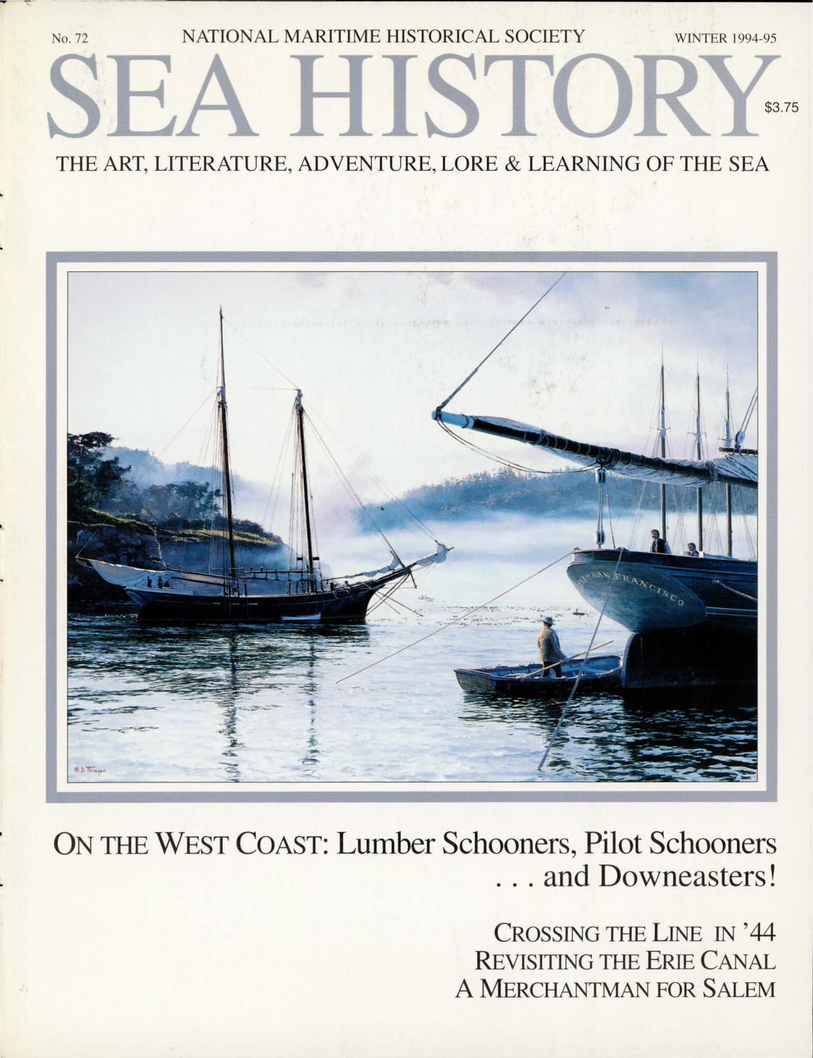 Sea History 072 - Winter 1994-1995 by National Maritime Historical