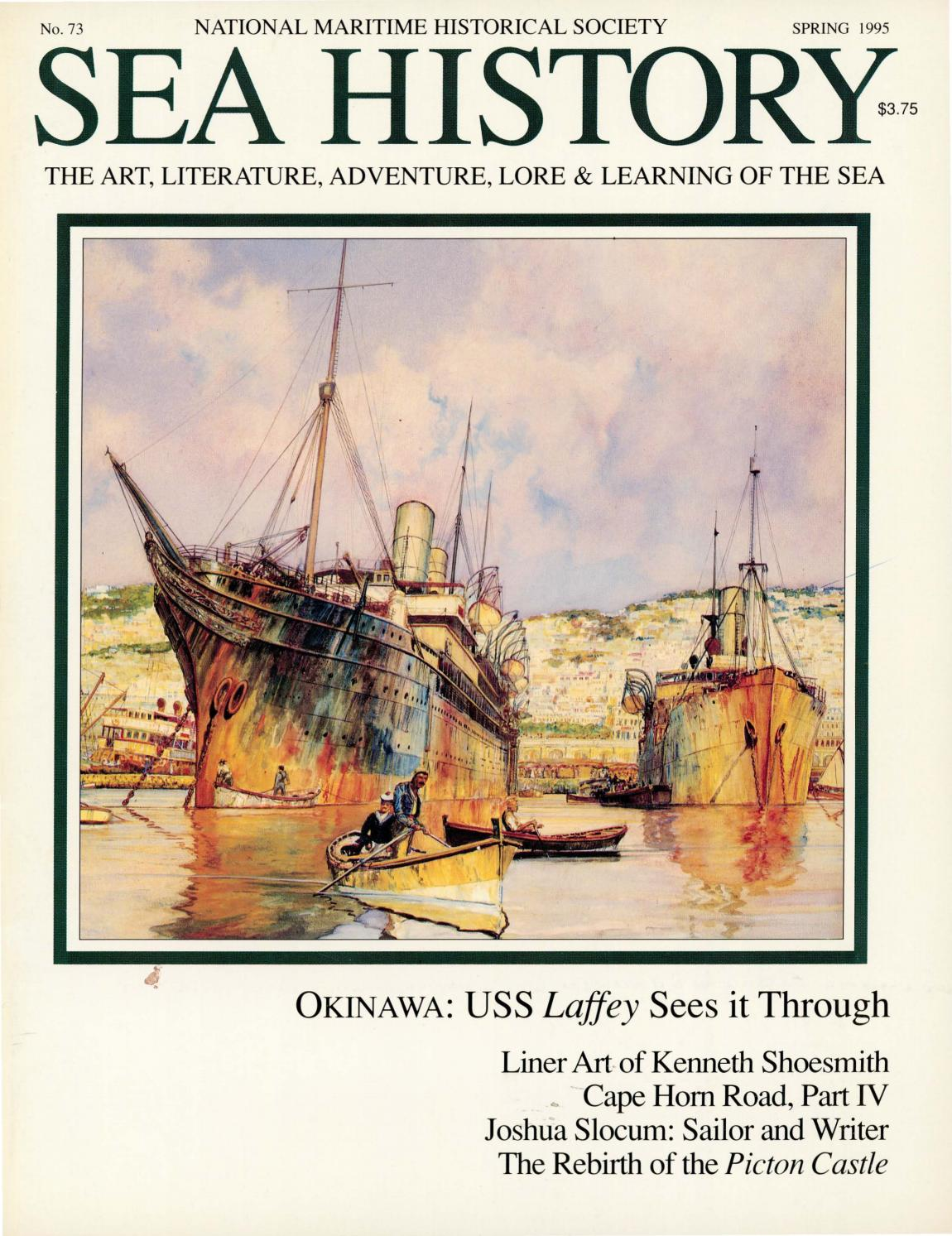 f8d92eac2c7 Sea History 073 - Spring 1995 by National Maritime Historical ...