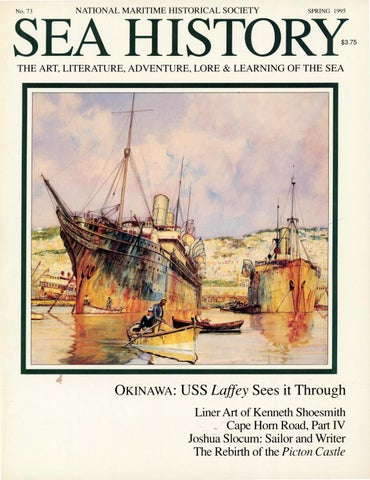 Sea History 073 - Spring 1995 by National Maritime Historical ... 49b6f7ed8814