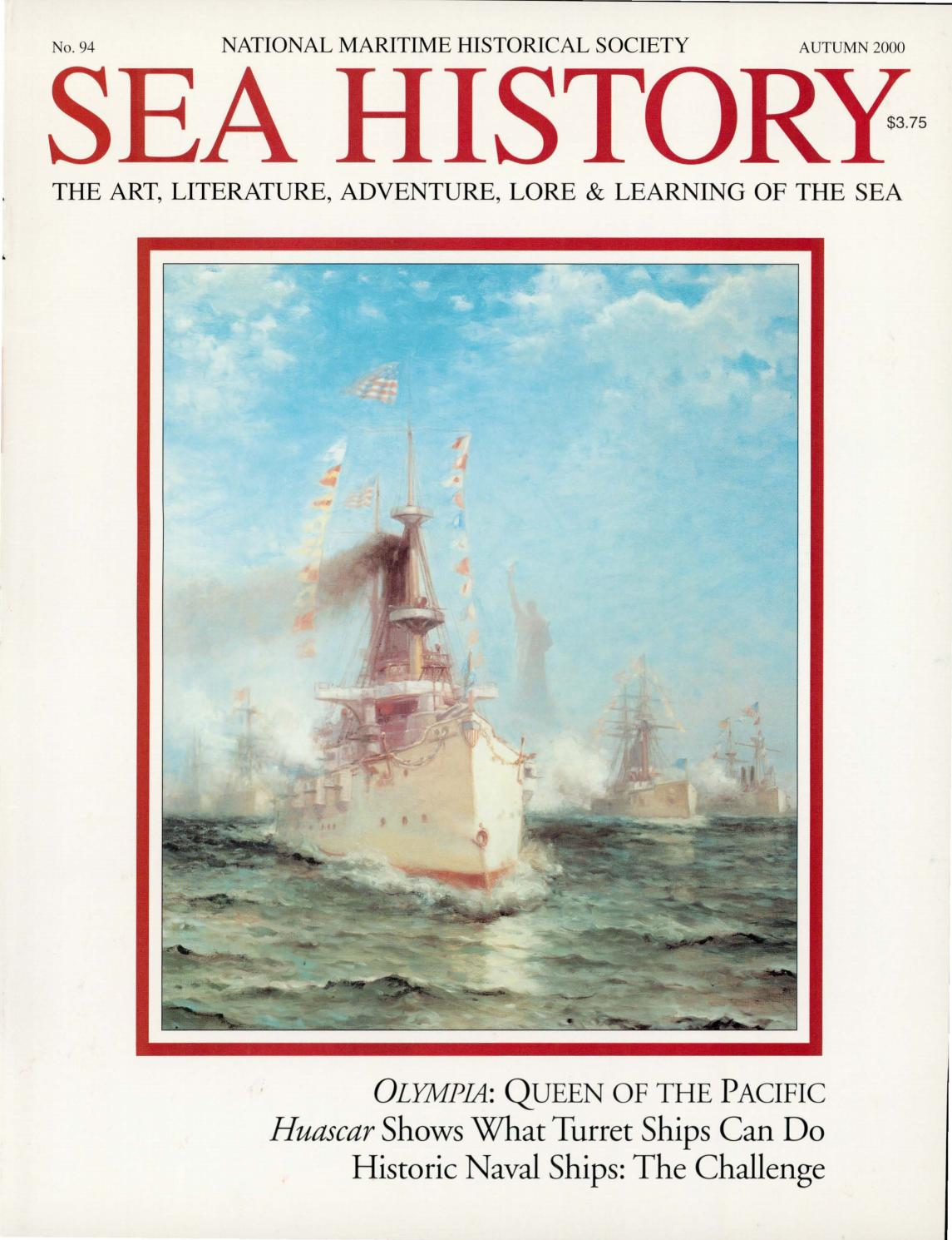 Sea History 094 - Autumn 2000 by National Maritime Historical ...