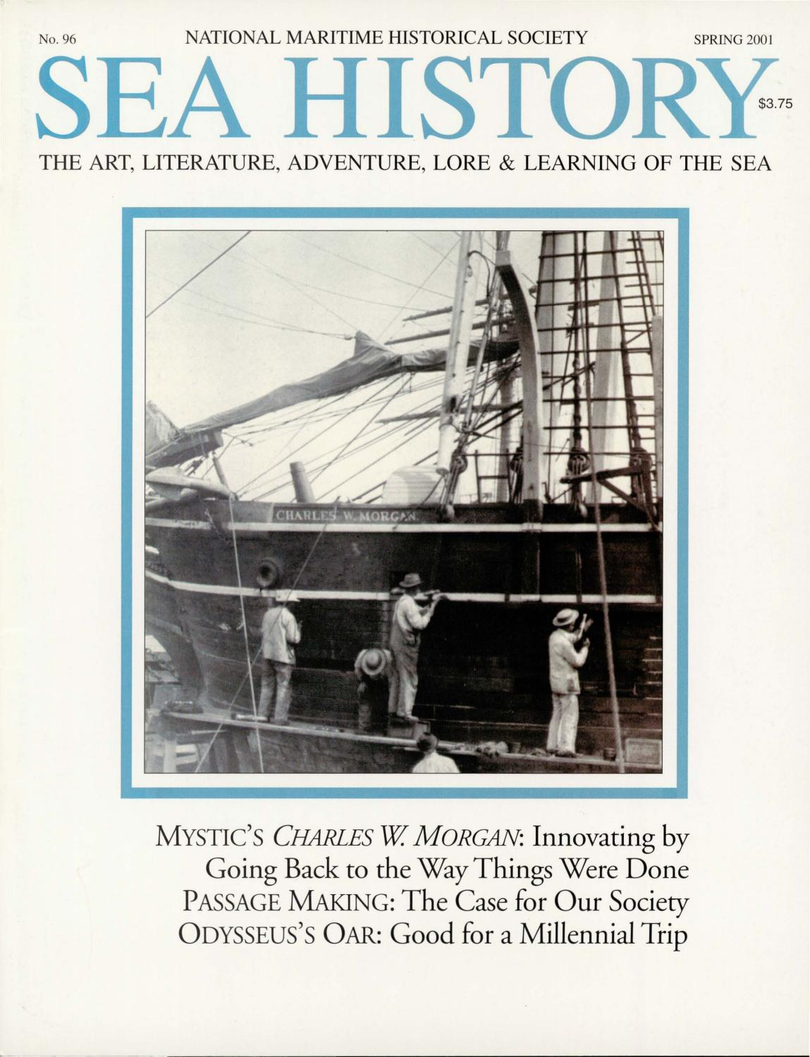 Sea History 096 - Spring 2001 by National Maritime