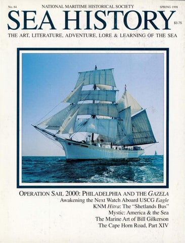 Sea History 084 - Spring 1998 by National Maritime Historical ... a6803cd2c6c