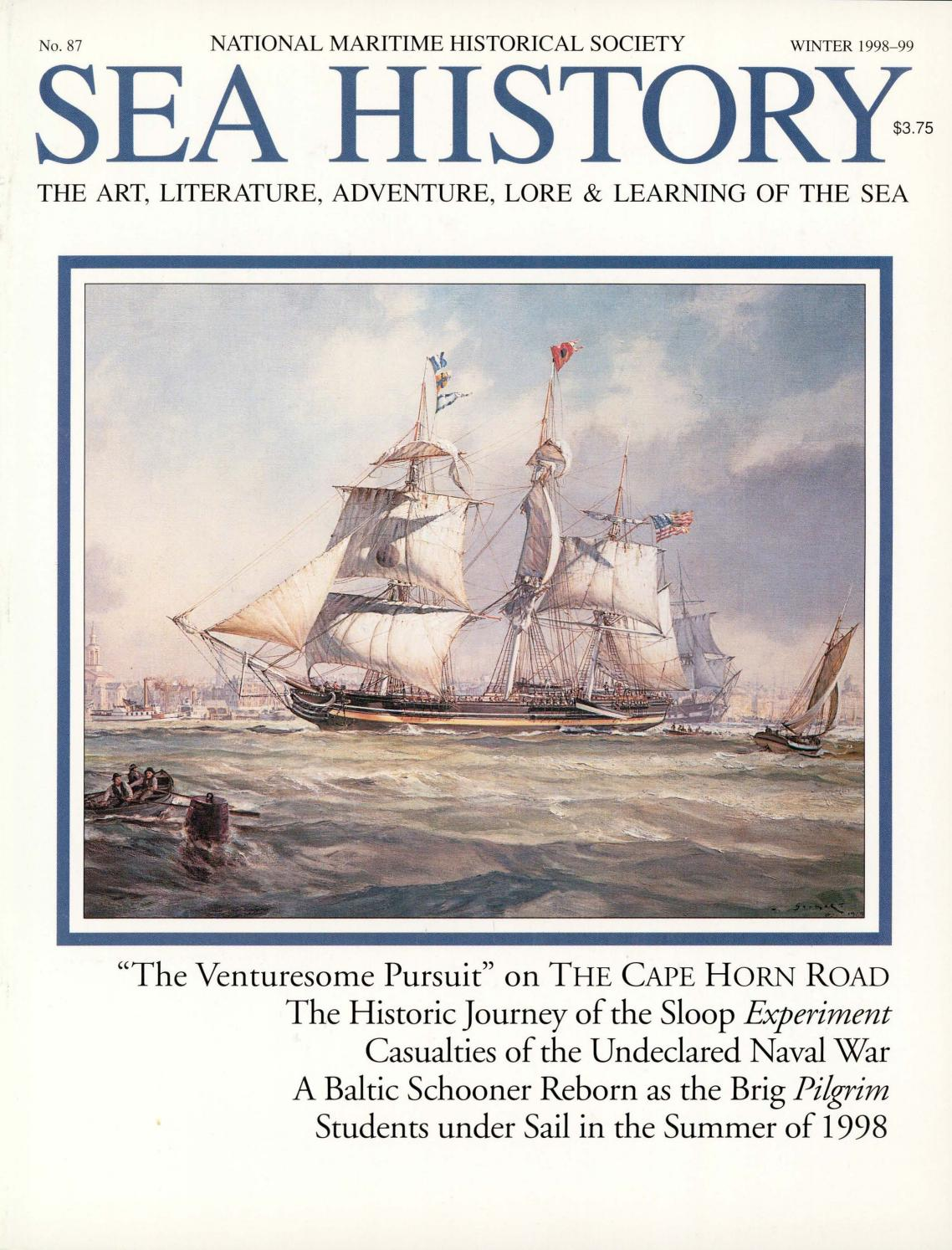 166975235fd4e Sea History 087 - Winter 1998-1999 by National Maritime Historical ...