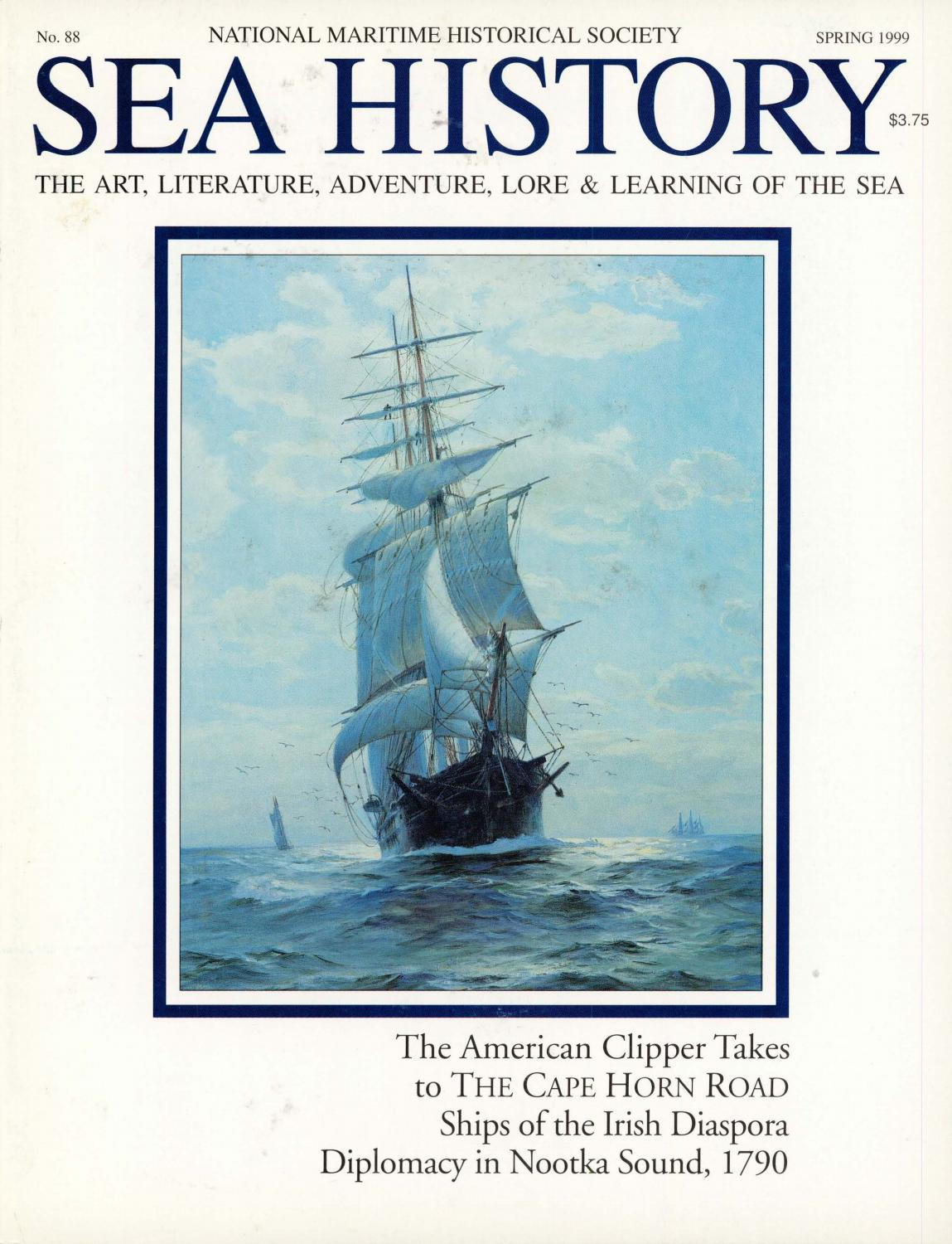 54be979e Sea History 088 - Spring 1999 by National Maritime Historical ...