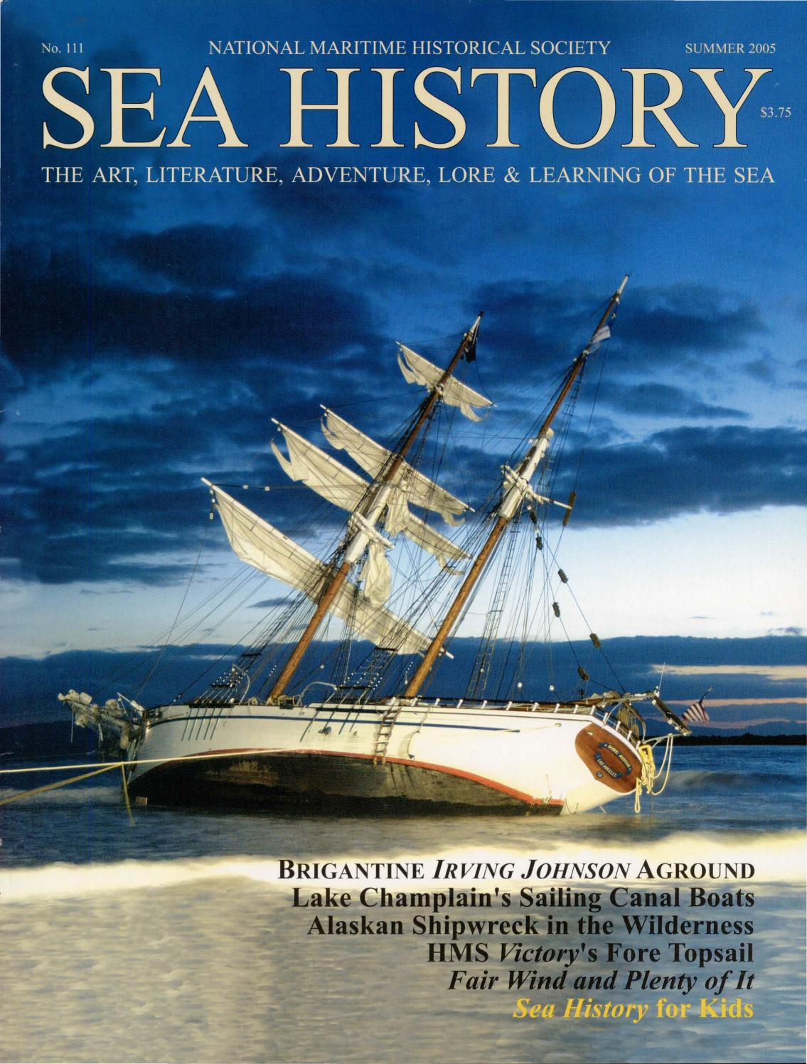 foto de Sea History 111 - Summer 2005 by National Maritime Historical ...