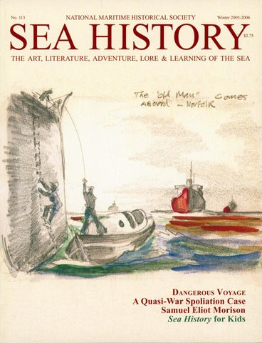 b227e815f94 Sea History 150- Spring 2015 by National Maritime Historical Society ...