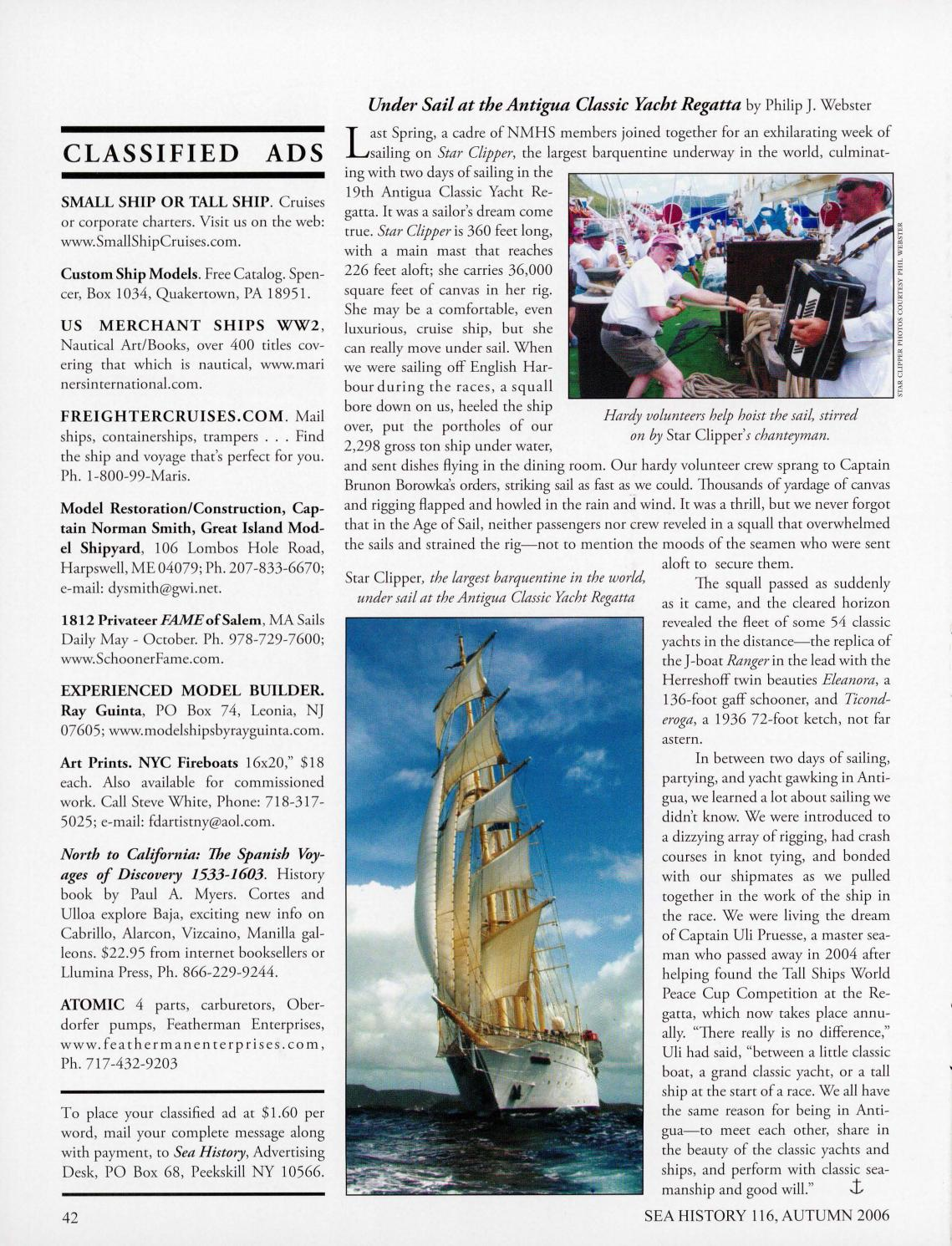 Sea History 116 - Autumn 2006 by National Maritime Historical