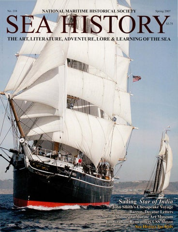 8d12e4ec2d388c Sea History 118 - Spring 2007 by National Maritime Historical ...