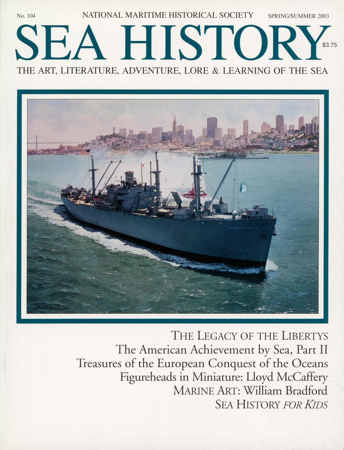 97566d32f Sea History 104 - Spring 2003 by National Maritime Historical ...