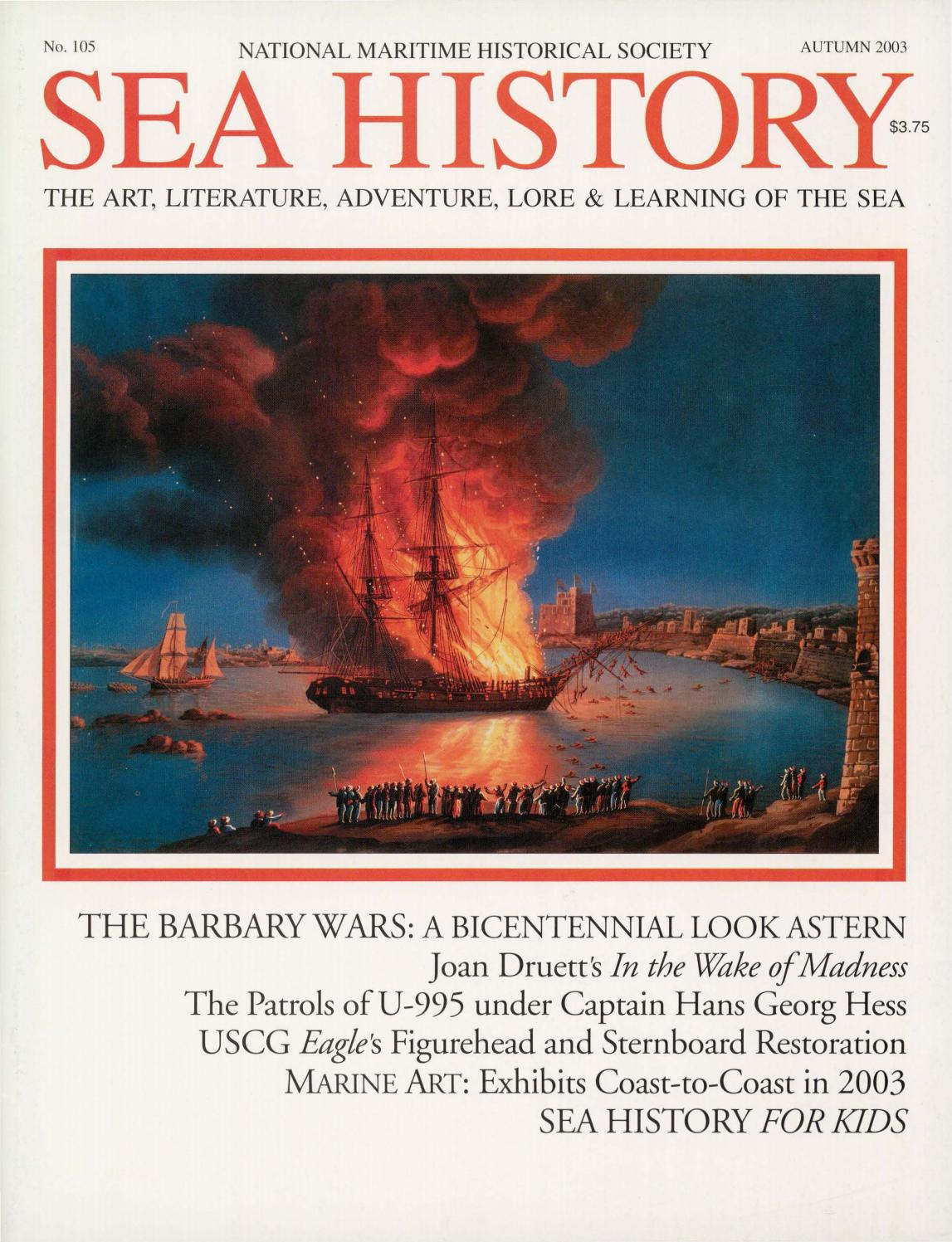 Sea History 105 - Autumn 2003 by National Maritime Historical