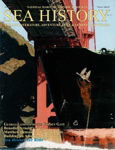 Sea history 117 winter 2006 2007 by national maritime historical winter 2006 07 fandeluxe Choice Image