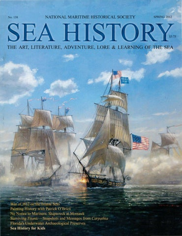 Sea History 138 - Spring 2012 by National Maritime Historical ... 436a0c8d05f1d