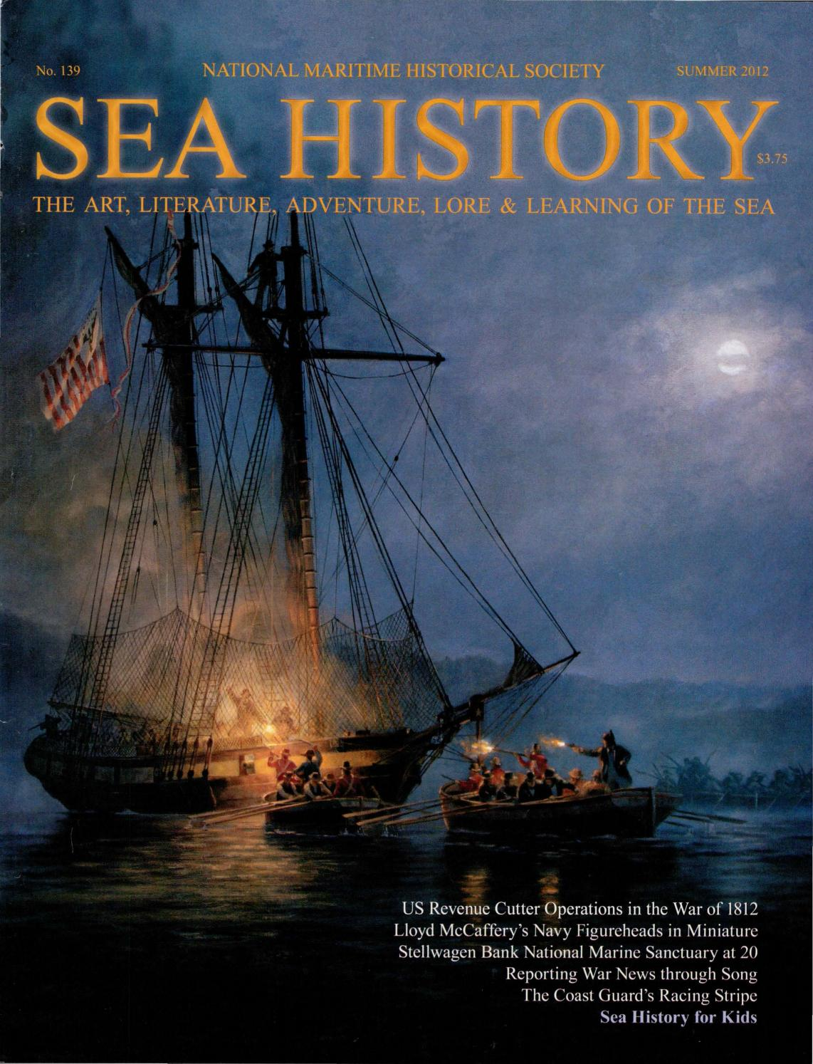 Sea History 139 - Summer 2012 by National Maritime Historical ... 93f0e16cf82