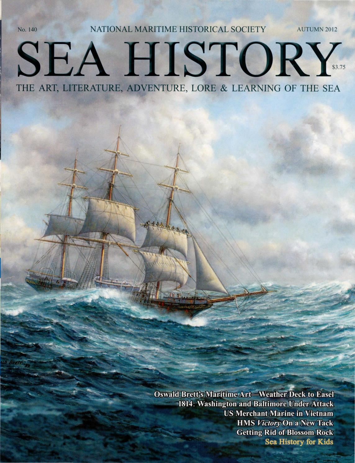 Sea History 140 Autumn 2012 By National Maritime Historical Pioneer Deh 1300mp Wiring Color Diagram Pls Be Reminded That On Society Magazine Issuu