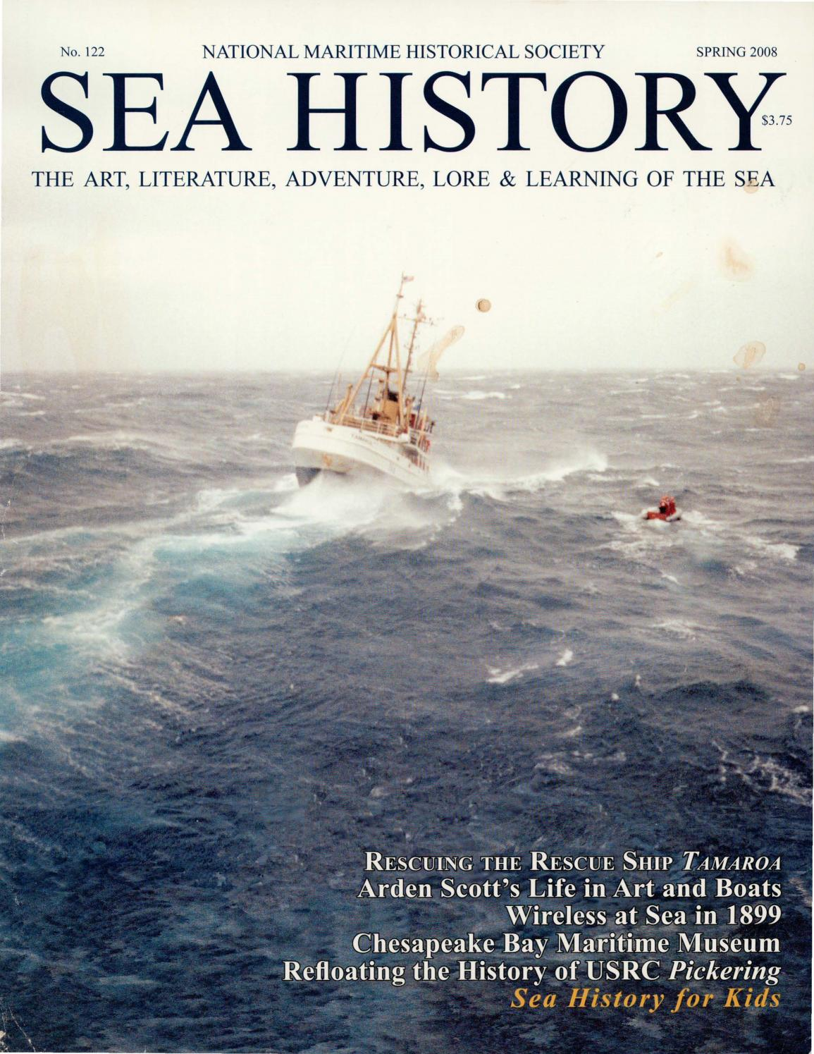 Sea History 122 - Spring 2008 by National Maritime Historical
