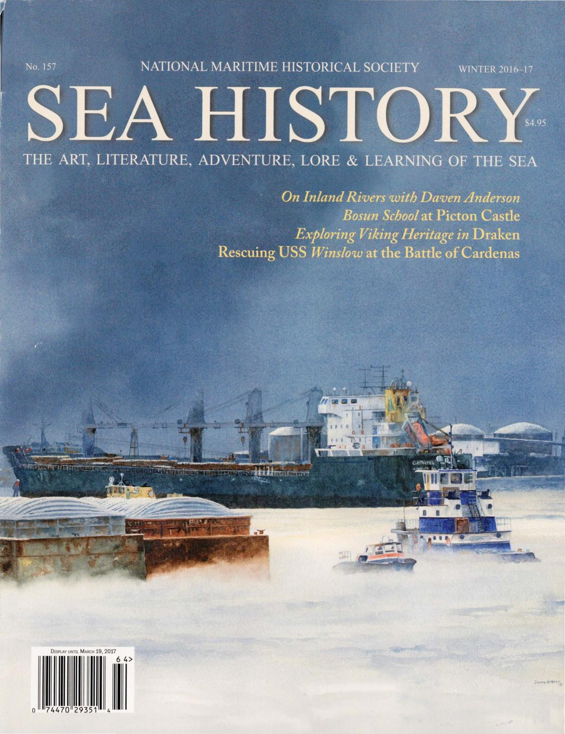 Sea History 157 - Winter 2016-2017 by National Maritime