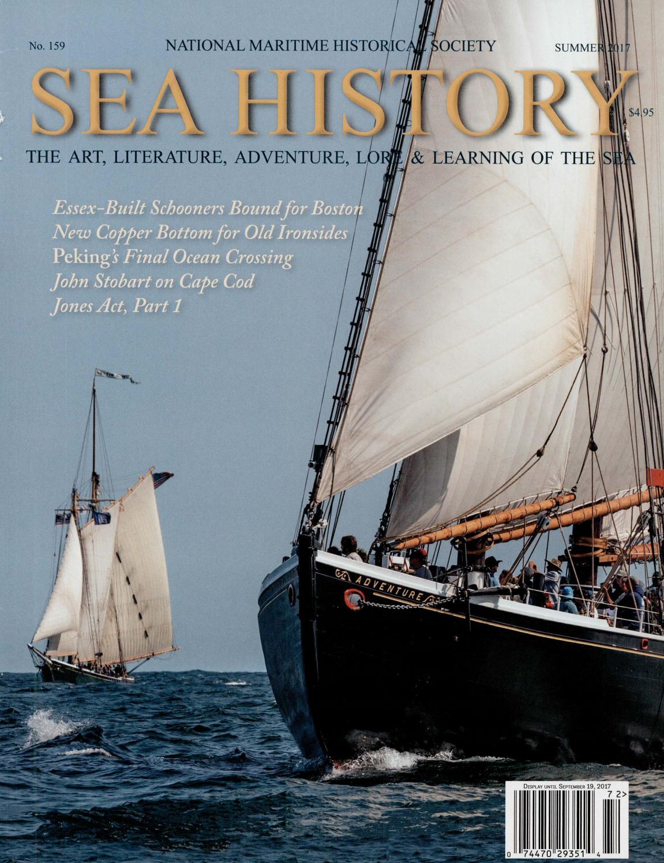 Sea History 159 - Summer 2017 by National Maritime Historical Society & Sea  History Magazine - issuu