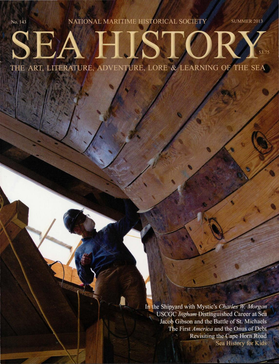 Sea History 143 - Summer 2013 by National Maritime
