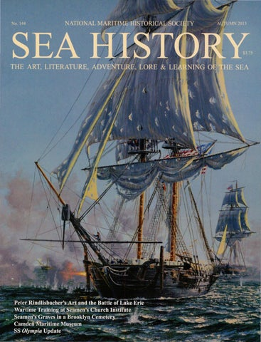 Sea History 144 Autumn 2013 By National Maritime Historical