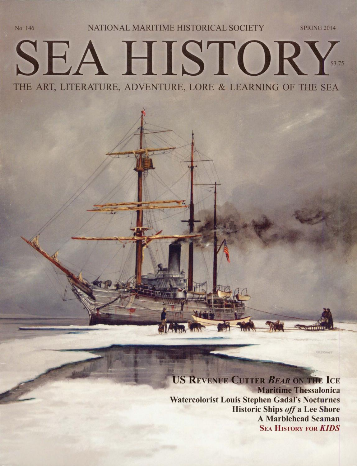 c14b48fcc58 Sea History 146 - Spring 2014 by National Maritime Historical Society   Sea  History Magazine - issuu